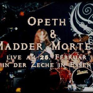 OPETH & MADDER MORTEM: Essen, Zeche Carl, 25.02.2003