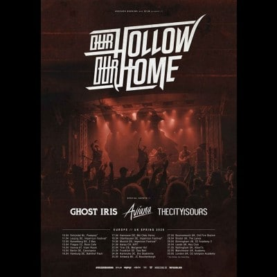 OUR HOLLOW, OUR HOME: Europatour im April 2020