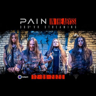 PAIN: Livestream aus dem Abyss Studio am 12. Juni