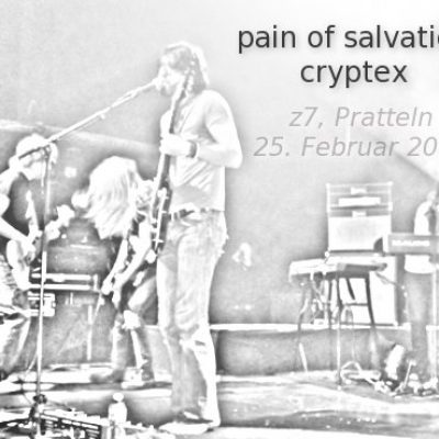 PAIN OF SALVATION, CRYPTEX, Z7, Pratteln, 25.02.2012
