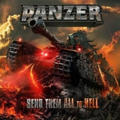 "PANZER: enthüllen Cover-Artwork von ""Send Them All To Hell"""