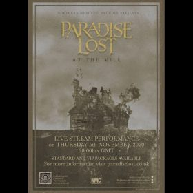 PARADISE LOST: Konzert-Livestream am 5. November