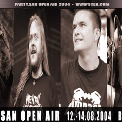 PARTY.SAN OPEN AIR 2004: Schweden Death Metal Festspiele in Bad Berka