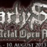 PARTY.SAN OPEN AIR: 2013: mit  DESASTER, OBSCURA; BLEEDING RED
