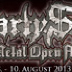 PARTY.SAN OPEN AIR: 2013: mit  PRIMORDIAL, SULPHUR AEON und ERAZOR