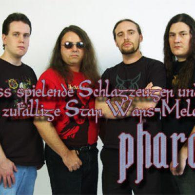 PHARAOH: Bass spielende Schlagzeuger und zufällige Star Wars-Melodien