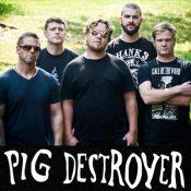 pig destroyer Bandfoto