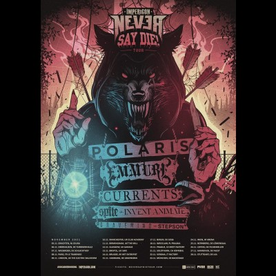POLARIS: Europatour mit EMMURE und CURRENTS im November 2021