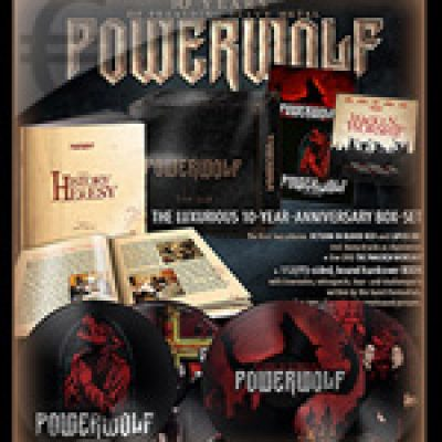 "POWERWOLF: ""The History Of Heresy"" – Box-Set"