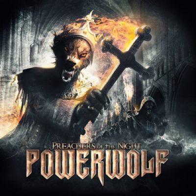 "POWERWOLF: Cover von ""Preachers Of The Night""."