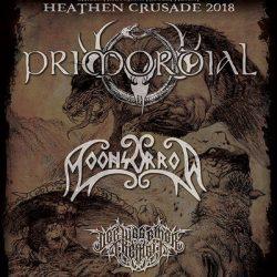 """PRIMORDIAL """"Heathen Crusade"""" Tour mit MOONSORROW, DER WEG EINER FREIHEIT"""