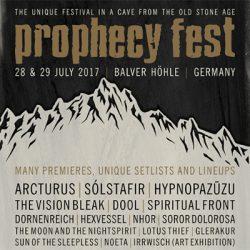 PROPHECY FEST 2017: Billing komplett