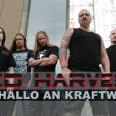 RED HARVEST: Ein Hallo an KRAFTWERK!