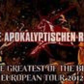DIE APOKALYPTISCHEN REITER: Demo ´Firestorm´ auf CD / Tour