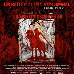 """DIE APOKALYPTISCHEN REITER: """"Ein Reiter steigt vom Himmel""""Tour 2017"""
