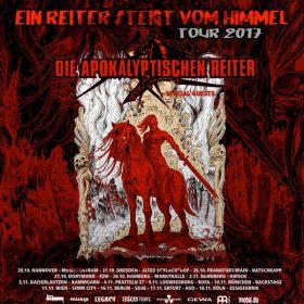 """DIE APOKALYPTISCHEN REITER: """"Ein Reiter steigt vom Himmel""""-Tour 2017"""