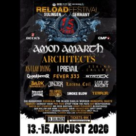 RELOAD FESTIVAL 2020: mit ARCHITECTS und MUNICIPAL WASTE