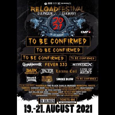 RELOAD FESTIVAL 2021: Termin und erste Bands