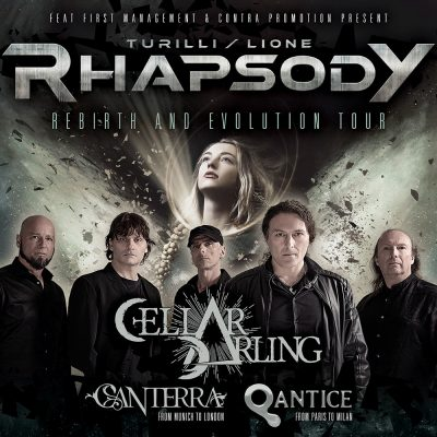 TURILLI/LIONE RHAPSODY: Tour mit CELLAR DARLING