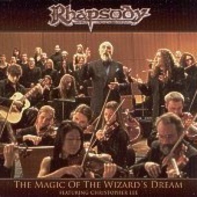 RHAPSODY featuring CHRISTOPHER LEE: The Magic Of The Wizard´s Dream (Single)