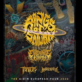 RINGS OF SATURN: 2020 auf Tour mit ENTERPRISE EARTH, TRAITORS, BRAND OF SACRIFICE