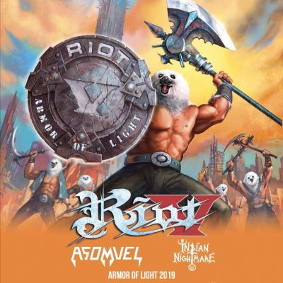 RIOT V : auf Tour mit ASOMVEL & INDIAN NIGHTMARE