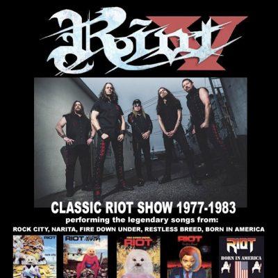 """RIOT V: """"Classic RIOT Show"""" – Konzert in Mannheim mit Songs der ersten Alben"""