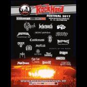 ROCK HARD FESTIVAL 2017: mit OPETH, CANDLEMASS; BLUES PILLS
