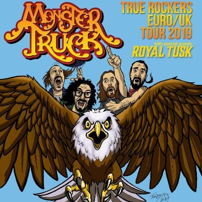 MONSTER TRUCK & ROYAL TUSK: Tour im Mai