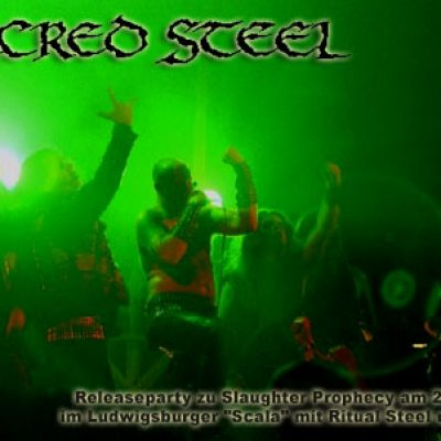 "SACRED STEEL: Releaseparty zu ""Slaughter Prophecy"" mit Ritual Steel und Wizard"
