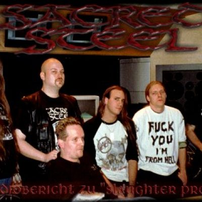 "SACRED STEEL: Der Studiobericht zu ""Slaughter Prophecy"""