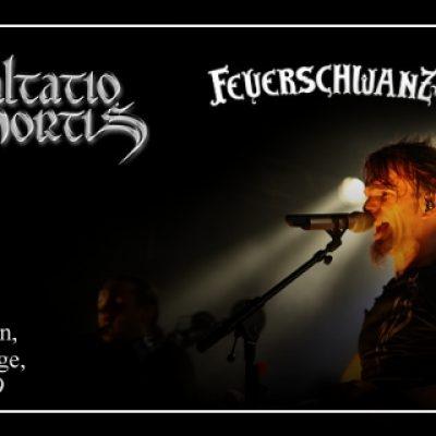 SALTATIO MORTIS, FEUERSCHWANZ: Backstage, München, 23.10.2009