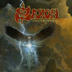 saxon thunderbolt CD Cover