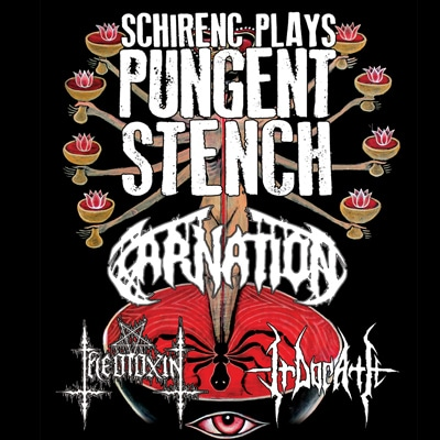 Schirenc plays PUNGENT STENCH: Konzerte im Winter