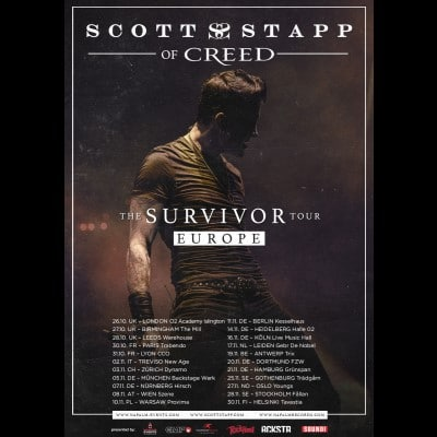"SCOTT STAPP: Tour zum neuen Album ""The Space Between The Shadows"" auf 2022 verschoben"
