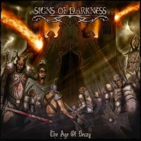 SIGNS OF DARKNESS: Cover-Artwork und Tracklist