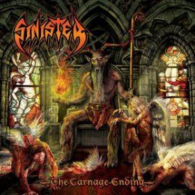 SINISTER: Ausschnitte vom neuen Album ´The Carnage Ending´ online