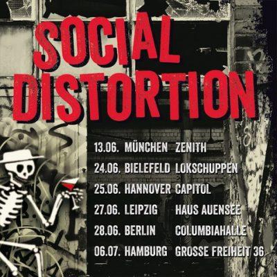 SOCIAL DISTORTION: Konzerte im Sommer 2020