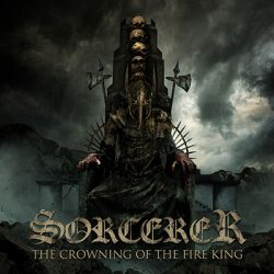sorcerer_crowning of the fire king Cover