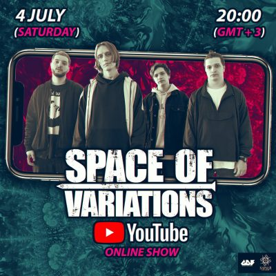 SPACE OF VARIATIONS: Konzert im Livestream am 4. Juli