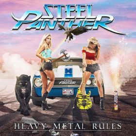 "STEEL PANTHER: neues Album ""Heavy Metal Rules"""