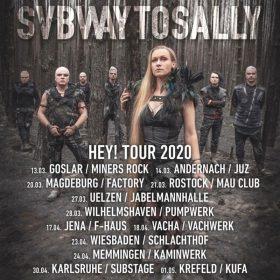 """SUBWAY TO SALLY: neue Termine der """"Hey!""""-Tour & Meet& Greet mit der Band zu gewinnen"""