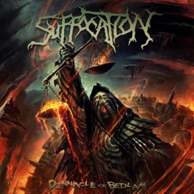 SUFFOCATION: Cover von ´Pinnacle Of Bedlam´