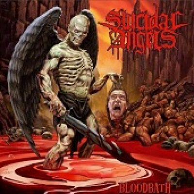 SUICIDAL ANGELS: Cover-Artwork zu ´Bloodbath´