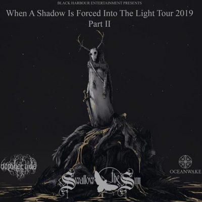 SWALLOW THE SUN: Headliner-Tour im Herbst mit OCTOBER TIDE und OCEANWAKE