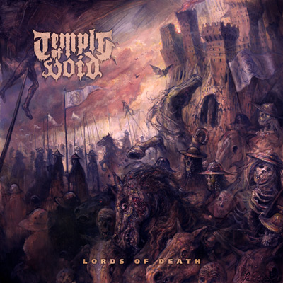 "TEMPLE OF VOID: Death Doom aus Detroit, ""Lords Of Death"" im Stream"