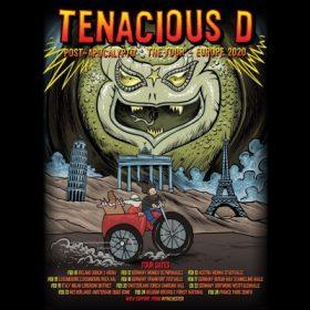 "TENACIOUS D: Tour zum Album ""Post-Apocalypto"" im Februar 2020"