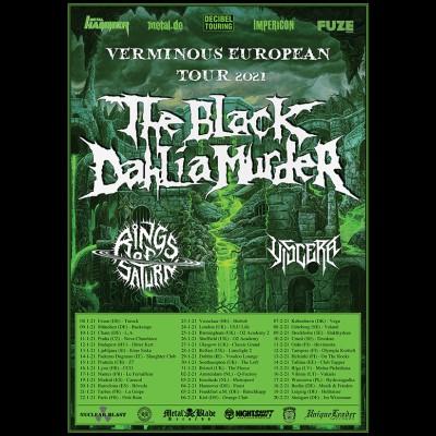 "THE BLACK DAHLIA MURDER: Tour zum neuen Album ""Verminous"""