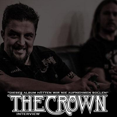 """THE CROWN: """"Dieses Album hätten wir nie aufnehmen sollen"""""""