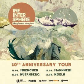 "THE INTERSPHERE: Jubiläumstour zu ""Interspheres><Atmospheres"" im April 2020"